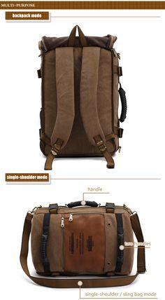 KAUKKO 18L Fashionable Backpack with Honeycomb Shaped Breathable Back Cushion