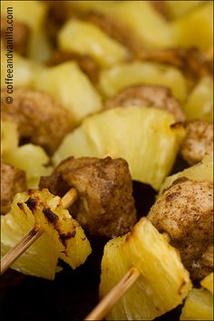 Caribbean Pineapple & Chicken Kebabs – Sweet, Spicy & Juicy