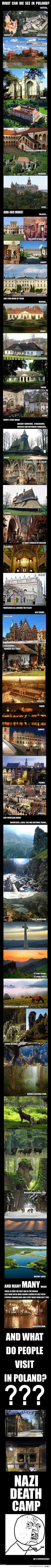 What Is There To See in Poland? And What Do People Visit?Yes, A Nazi Death Camp (. Visit Poland, Poland Travel, Central Europe, Krakow, Adventure Is Out There, Warsaw, Eastern Europe, Vacation Spots, Places To See