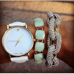 the watch is my fav .