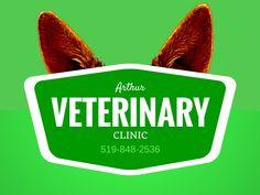 Arthur Veterinary Clinic - Home Vet Clinics, Business Design, Logos, News, Logo