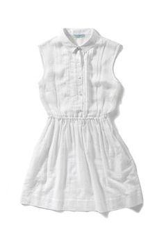 HUFFER  White Shirty dress