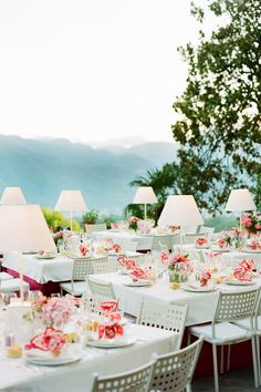 lamps on tables - barga-italy-wedding-table-place-setting-outdoor-reception