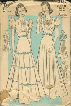 Advance 2127 - Vintage Sewing Patterns