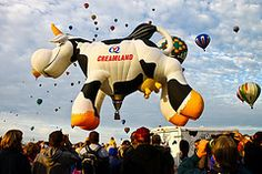 Airabelle - The Creamland Cow Balloon by Marvin Bredel
