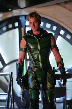 Justin Hartley as Oliver Queen aka Green Arrow on Smallville