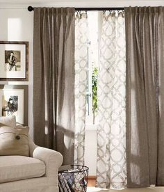 Curtains living room: