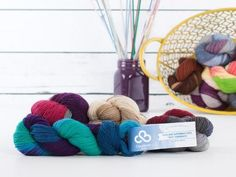 Only at Craftsy! It's the perfect sock yarn, with a twist. Spun by the yarnistas at Cloudborn, Highland Superwash Sock Twist Hand-Paints will put some spring in your step — and your socks — with th...