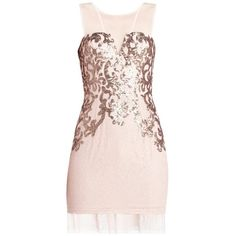 ABIGAIL PAISLEY SEQUINED COCKTAIL DRESS (10.600 UYU) ❤ liked on Polyvore featuring dresses, vestidos, short dresses, cocktail dresses, floral lace dress, short lace dress, short sequin cocktail dresses, pink sequin dresses and lace dress