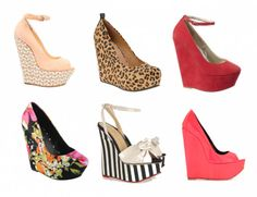 I love wedges! They're so easy to walk in and are comfy!!