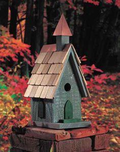 Fancy+Bird+Houses | Bird House. Decorative, Heartwoord Birdhouses, Building a Bird House