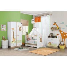 Chambre à coucher bébé | La chambre bébé est composée : d'un lit d'une armoire 2 portes d ...