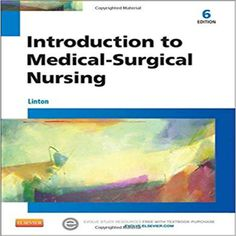 40 best nursing test bank images on pinterest test bank for introduction to medical surgical nursing 6th edition by linton fandeluxe Choice Image