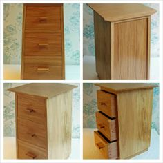 Chest of drawers made in Oak. Made to match existing style of clients furniture.