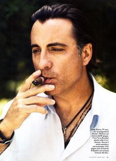 Smoking Is Sexy : Andy Garcia