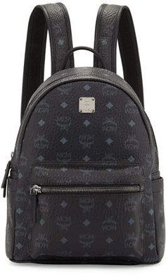 MCM Stark Small No Stud Backpack 862dc363e8ace