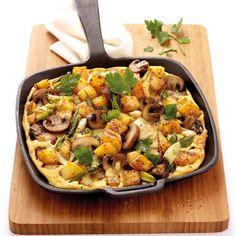 8 ProPoints // 9 SmartPoints Preparation time: 10 min Cooking time: 20 min Width … - Famous Last Words Fast Food Breakfast, Weight Watchers Breakfast, Breakfast On The Go, Weight Watchers Meals, Easy Cooking, Healthy Cooking, Weith Watchers, Healthy Nutrition, Food And Drink