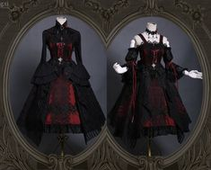 LolitaWardtobe - Bring You the latest Lolita dresses, coats, shoes, bags etc from Trustworthy Taobao indie Brands. We never resell Lolita items from untrustworthy Taobao stores. Gothic Lolita Fashion, Gothic Outfits, Victorian Fashion, Old Fashion Dresses, Fashion Outfits, Pretty Dresses, Beautiful Dresses, Fantasy Dress, Kawaii Clothes