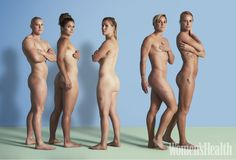 Female #Olympians pose naked in tribute to the bodies that helped them for Women's Health magazine.   #Rio2016 #Sport #Athletics #Rugby #Women #Empower #Inspire
