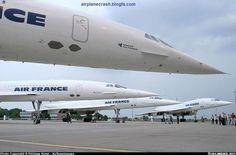 Quadruple AIR FRANCE Concordes!