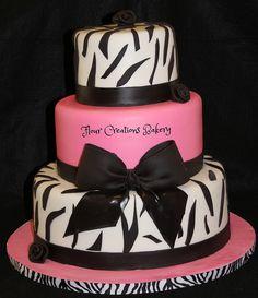 Zebra Birthday Cake | Flickr - Photo Sharing!
