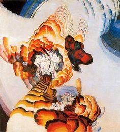 """""""Conte de pistils et étamines 1"""" de Frantisek Kupka (1871-1957, Czech Republic)"""