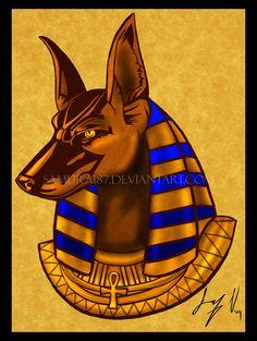 Ra VS Anubis by EuchridEucrow on DeviantArt