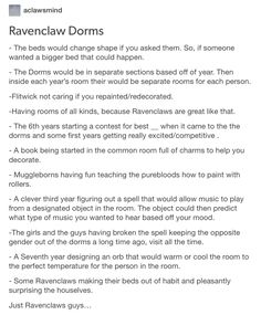 Ravenclaw. Hogwarts