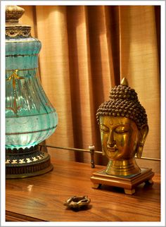Buddha and Aqua