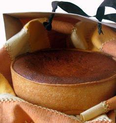 Tourteau fromager - Tarte charentaise au fromage frais de chèvre, sucré