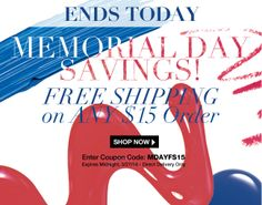 Ends today!