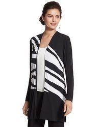 Knit Kit Zebra-Print Jacket