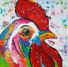 Vrolijk schilderijen on Pinterest