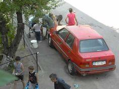 Ferentari, Bucureşti, pe caniculă fierbinte. @