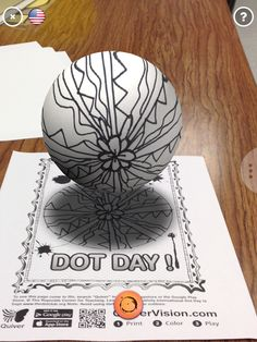 dot day art projects You inspired a new idea!Thx will have students explore op art/radial designs w/ Spring Art Projects, Projects For Kids, Library Lessons, Art Lessons, International Dot Day, Expressive Art, Toddler Art, Art Classroom, Classroom Ideas