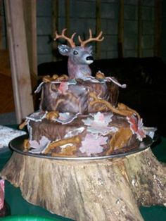 Hunting Scene Cake Decorations : 1000+ images about hunting birthday cakes on Pinterest ...
