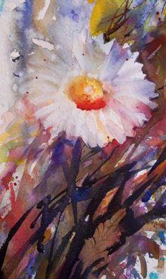 Acquerelli di fiori da Jean Haines