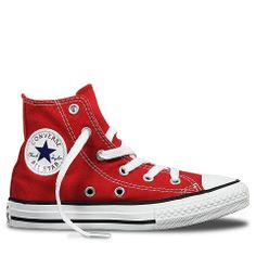 Chuck Taylor All Star Junior High Top Red Red