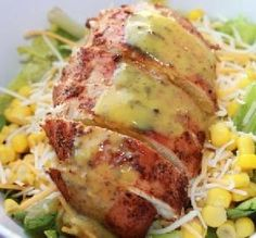 "Copycat Applebee's Blackened Chicken Salad: ""Amazing! Every bite was tasty and flavorful. It's the best blackened chicken I have ever had."" -DomesticGoddess22"