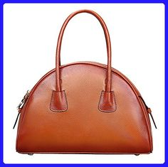 e406261072f KDHJJOLY Practical Women's European And American Style First Layer Of  Leather Top-handle Tote Shoulder