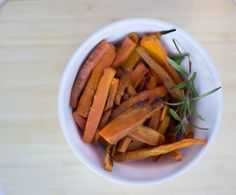 Rosemary & Garlic Carrot Fries