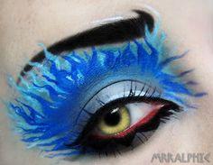 Disney's Hercules - Hades Inspired Eye Makeup