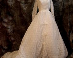 Gunne Sax 70's Wedding or prom dress by TheTrousseau on Etsy