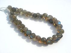Labradorite Faceted Onion Semi Precious Gemstone by beadsogemstone, $20.33