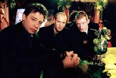 Still of Jason Flemyng, Dexter Fletcher and Jason Statham in Lock, Stock and Two Smoking Barrels