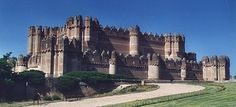 Coca Castle in Spain -- built in the 15th century and is a training center for foresters, of all things.