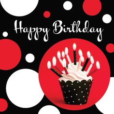 Creative Converting Cupcake Blowout Dots, Birthday Luncheon Napkins, 16-Count for only $3.89 You save: $3.10 (44%)