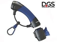 The all-in-one ergonomic design of the Dog Gone Smart Gismo Leash Holder holds any dog leash and allows you to walk your dog with ease and comfort.  It holds everything you need to free your hands.   Supreme Comfort: The soft silicone grip comfortably fits hands of all sizes.The Gizmo is super lightweight and easy to carry. The grip eliminates hand soreness and chafing commonly seen when holding leashes. Leash Carabiner: The specifically designed carabiner can hold any dog weighing up to…