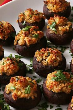 Stuffed Mushrooms Add some vegetables to your party appetizer spread with this savory stuffed mushroom recipe.Add some vegetables to your party appetizer spread with this savory stuffed mushroom recipe. Mushroom Appetizers, Stuffed Mushroom Recipes, Easy Stuffed Mushrooms, Vegetarian Stuffed Mushrooms, Mushrooms Recipes, Stuffed Mushroom Caps, Stuffed Mushrooms Pioneer Woman, Appetizers For Party, Simple Appetizers