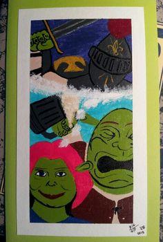 Shrek still my hero Art card